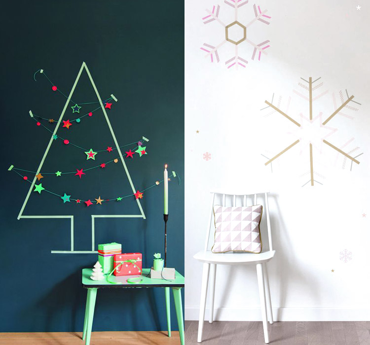 idee-decorazioni-washi-tape-Natale