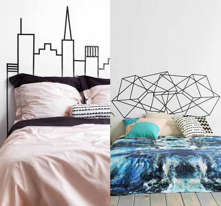 idee-decorazioni-washi-tape-letto