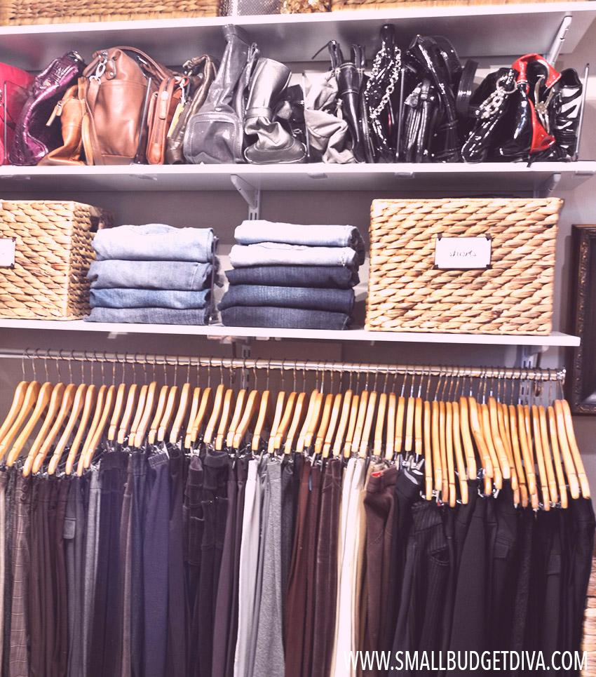 Il guardaroba ideale  come organizzare l'armadio