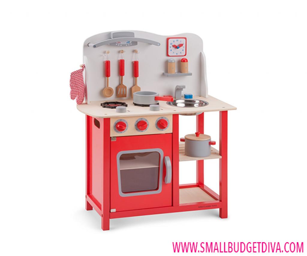 Cucina giocattolo in legno img4 for Cucina giocattolo