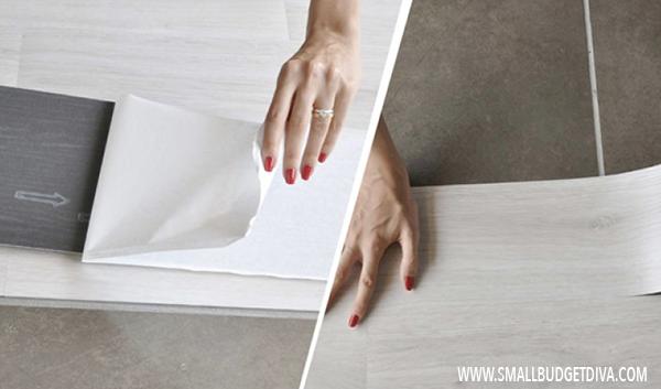 Come coprire le vecchie piastrelle ecco 5 soluzioni - Piastrelle adesive pavimento ...
