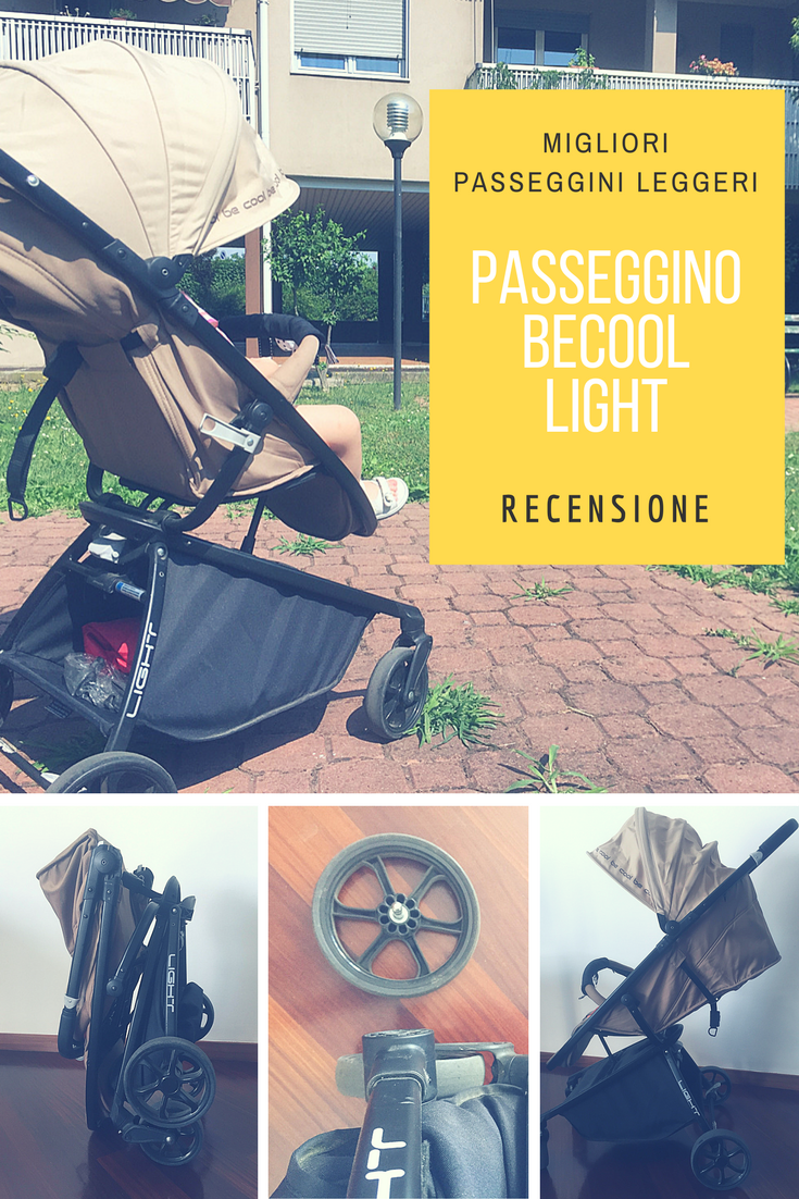 Passeggino leggero Be Cool light _ pinterest