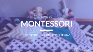 lettino montessori _ main