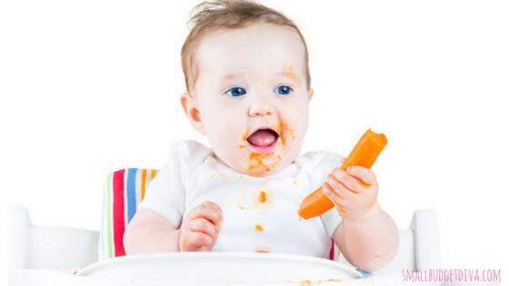 autosvezzamento_il bambino mangia da solo