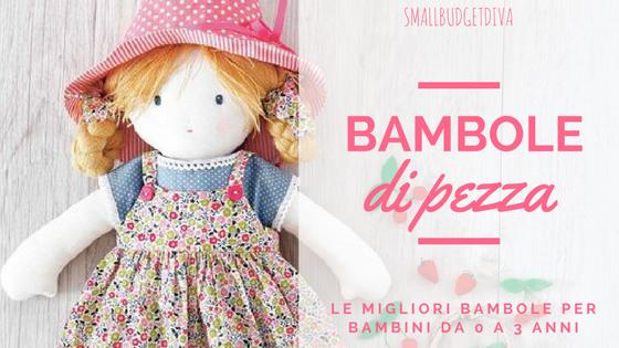 Bambole di pezza _ migliori bambole per bambini _ titolo
