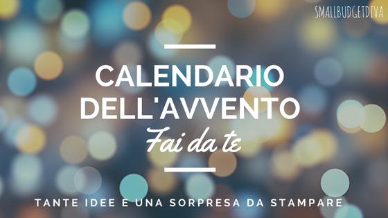 Calendario dell'avvento fai da te _ idee e file da stampare