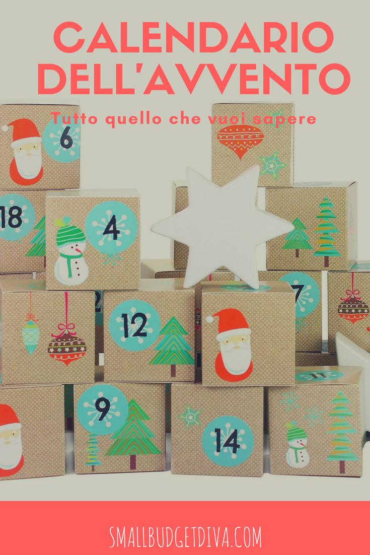 Calendario Dellavvento Pinterest.Natale 2017 Inizia Il Conto Alla Rovescia Tutto Sul
