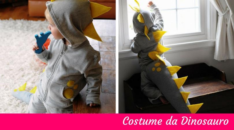 Costumi di carnevale fai da te per bambini _ Dinosauro