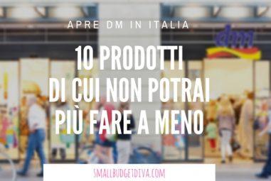 Apre DM in Italia | Ecco le 10 cose di cui non potrai più fare a meno