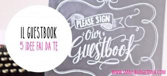 Guestbook matrimonio: 5 idee fai da te