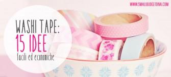 Washi Tape | 15 idee per decorare in modo economico